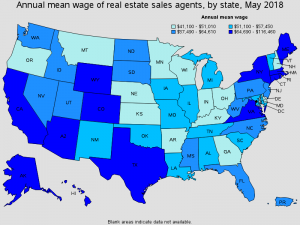 how much real estate agents make ?